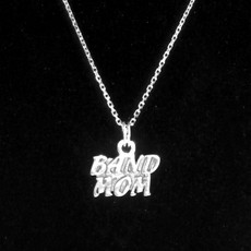 Band Mom Sterling Silver Charm