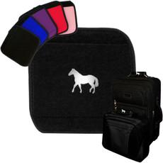 Horse Emblem Luggage Handle Wrap