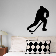 Ice Hockey Male Pose 3 Wall Décor
