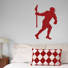 Lacrosse Attack Mid Male Wall Décor