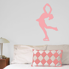 Figure Skater Layback Wall Décor