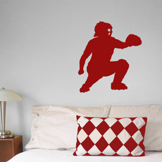 Baseball Catcher Wall Decor