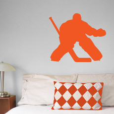 Ice Hockey Goalie Wall Décor
