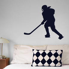 Ice Hockey Female Wall Décor