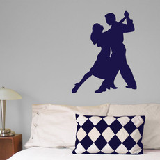Ballroom Dancers Wall Décor