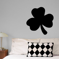 Shamrock Wall Décor in Black