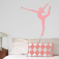 Twirler Wall Décor in Pink