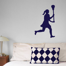 Lacrosse Female Wall Décor
