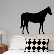 Horse Wall Décor in Black