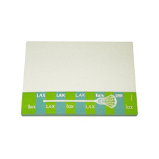 Lacrosse Stripe Sticky Notes