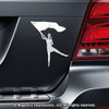 Color Guard Car Magnet in Chrome