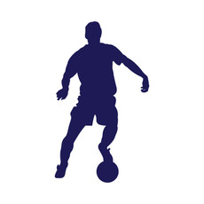 Soccer Male Window Decal