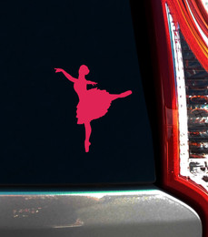 Ballet Dancer Arabesque Window Decal