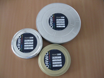 ORWO N74 plus (400 ASA) 16mm, Negative B&W Film, 400ft, on a core
