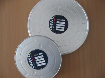 ORWO TF12d (Sound Recording Film), 35mm, 2050ft