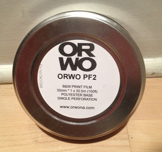 ORWO PF2 B&W Print Film, 35mm, 100ft