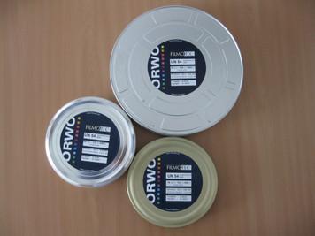 ORWO UN54 (100 ASA), 16mm, Negative or Reversal, Double Perf, Daylight Spool, 100ft