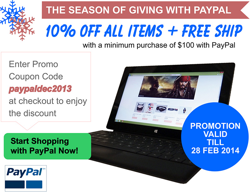 PayPal Promotion
