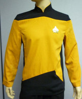 TNG Yellow /Red JACKET Star Trek Next Generation Halloween Costume