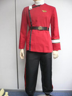 TWOK II-VI Star Trek Wrath Khan Uniform Costume fleet