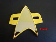 VOYAGER / DS9 / FC BADGE Star Communicator Trek Props