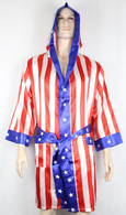 Rocky Balboa APOLLO ROBE america flag