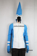Regular Show Blue Jay MORDECAI JACKET Fleece ADULT hood