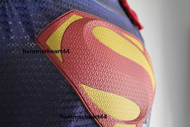 superman chest emblem man of steel prop logo urethane