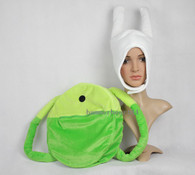 Adventure time FIONA HAT BACKPACK SET