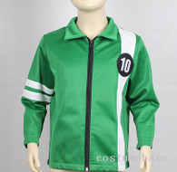 BEN 10 JACKET Aliens Force kids boys cosplay Benjamin irby Tennyson