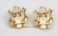 The WALKING DEAD Uniform Eagle INSIGNIA COLLAR PIN Badge Replica Props 1 Pair