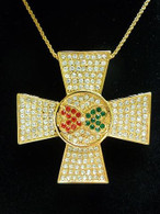 Elvis Presley : Maltise Cross Pendant Necklace