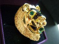 Elvis Presley : LION HEAD RING