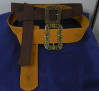 Jack Sparrow Suede Sun & Flower Belt POTC Pirate of the Carribean