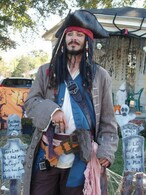 JACK SPARROW FULL COSTUME POTC Pirate of the Carribean