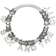 Sex and the City Bangle-Style Charm Bracelet wristband satc