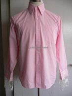 Mad Hatter Lace Pink Shirt