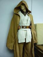 DELUXE FULL OBI Kenobi Costume jedi star wars tunic robe belt pouchs capsules