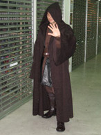 Deluxe BLACK / Dark Brown Anakin star wars Jedi Sith Costume