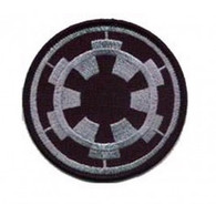 Star Wars Imperial Forces Officer COG TIE logo patch Iron-on emblem