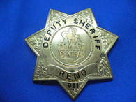 RENO 911 SHERIFF BADGE