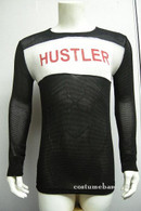 HUSTLER SHIRT Fight Club Tyler Durden Mesh Rare Costume
