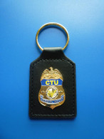 CTU 24 SPECIAL AGENT Mini Badge CAR KEY HOLDER/ keychain