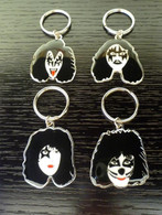 KISS SOLO set of 4 KEYCHAIN