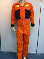 BSG Battlestar Galactica Orange Deck Crew / Fatique Coverall Jumpsuit Costume