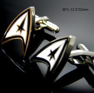 Star Trek Command Logo Cufflinks