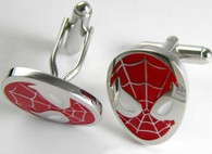 Spiderman Cufflink