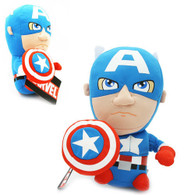 "Captain America 18cm/7"" Suction Plush Doll Marvel Avengers"