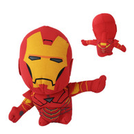 "Iron Man 18cm/7"" Suction Plush Doll Toy Figure Marvel Avengers Alliance Hero"