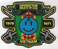 THE WATCHMEN MOVIE VIETNAM CAST /CREW STYLE PATCH NEW